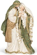 Holy Family Olive Gold Robes Figurine, 13.7 inch, Multicolor