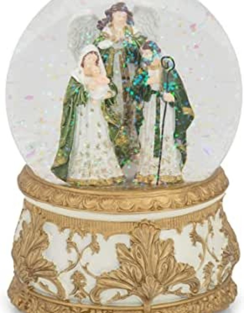 "5""H Musical Holy Family"