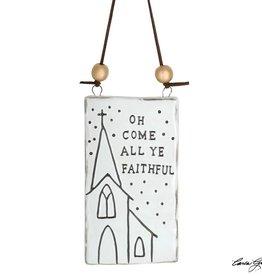 OH COME ALL YE FAITHFUL ORNAMENT