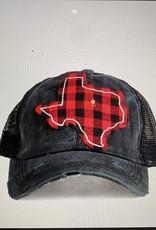 Buffalo Plaid Texas Hat
