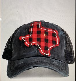 Buffalo Plaid Texas Hat