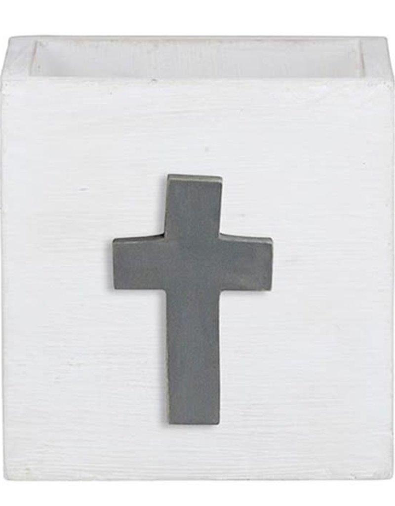 Nest Box Grey Cross