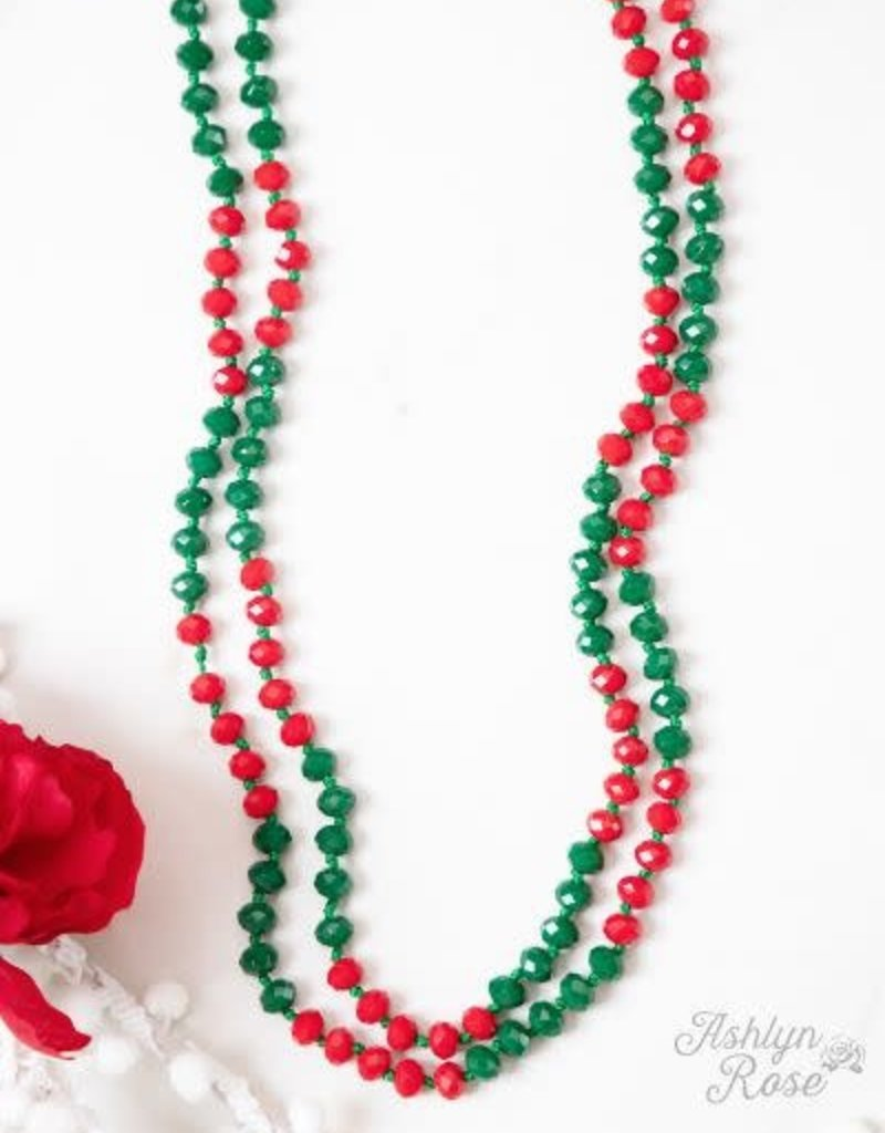 "The Essential 60"" Double Wrap Beaded Necklace"