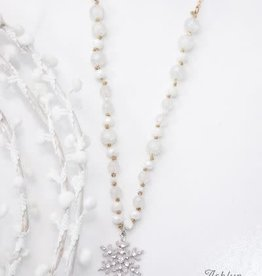 'Snow Worries' Snowflake Necklace