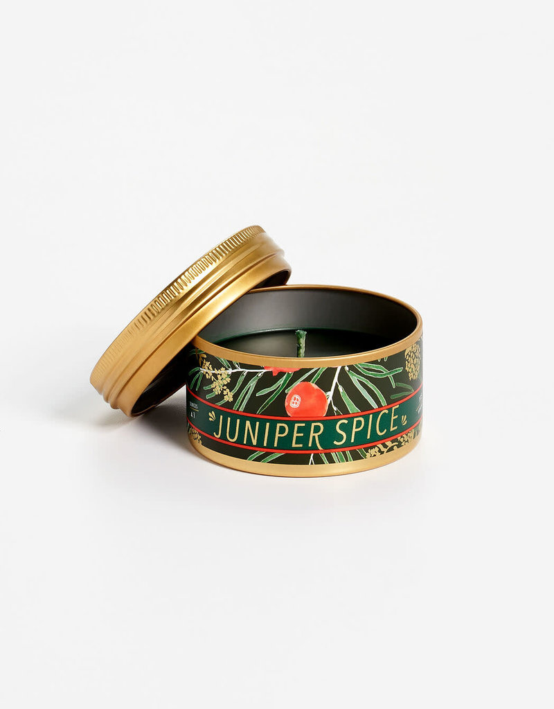 Tried & True Small Tin Juniper Spice