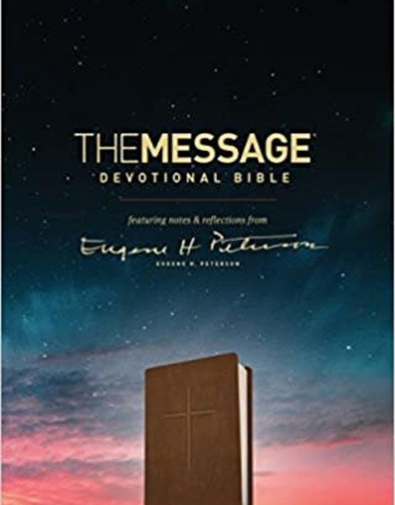 MESSAGE Devotional Bible