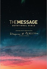 MESSAGE DEVOTIONAL BIBLE ( hardcover)