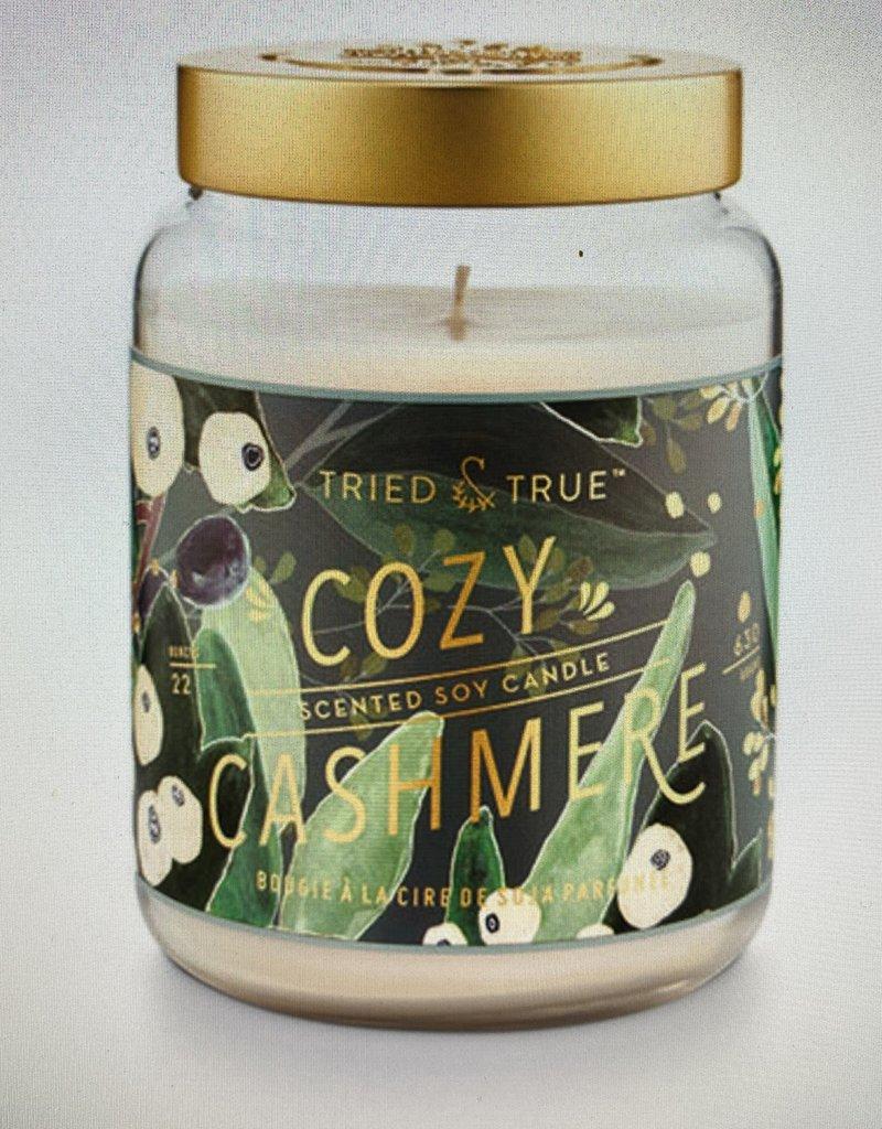 Tried & True Large Jar Cozy Cashmere