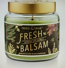 Tried & True Large Jar Fresh Balsam