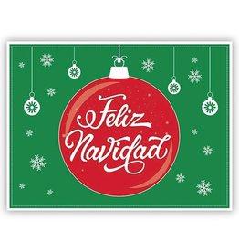 Yard Sign - Feliz Navidad/Merry Christmas