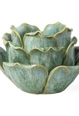 Flower Tealight Holder ( light green)