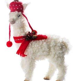 """20"""" Llama with Hat & Scarf"""