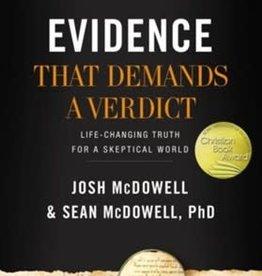 EVIDENCE THAT DEMANDS A VERDICT (NEW)