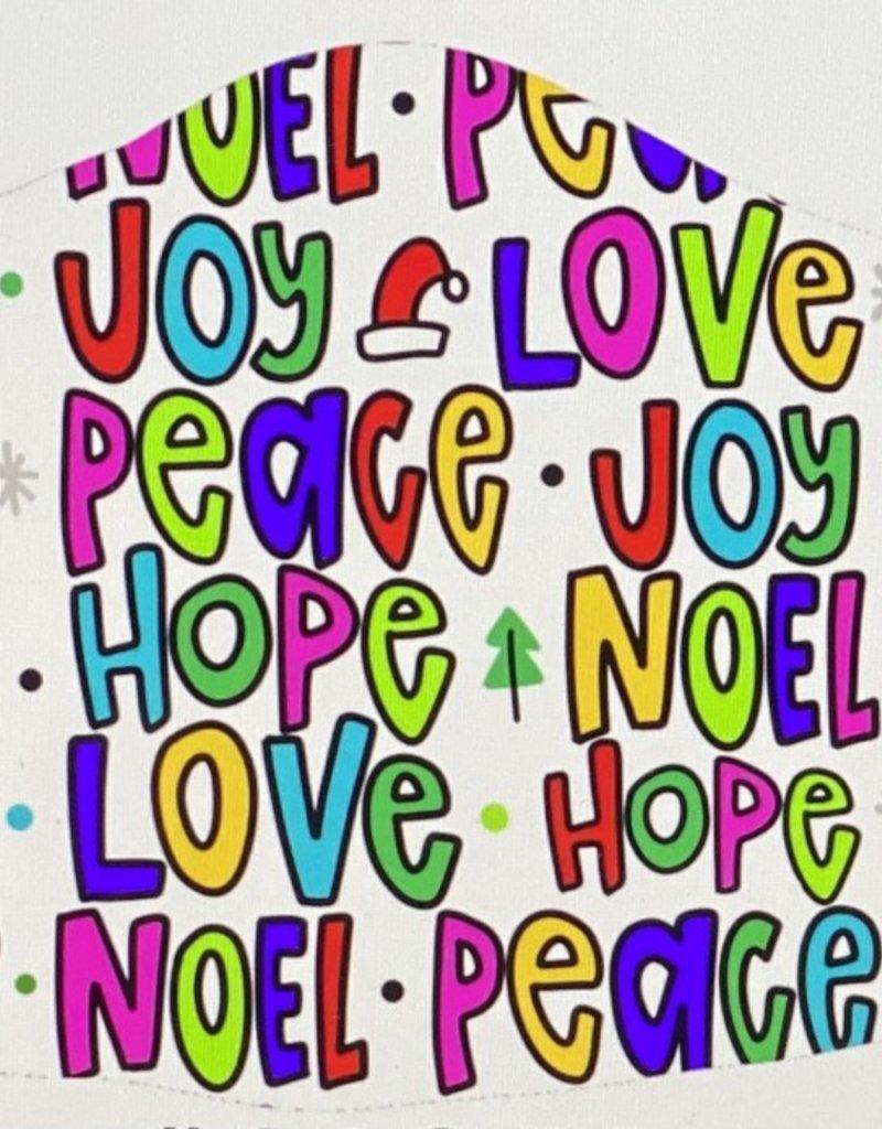 Face Mask- Love, Hope & Joy