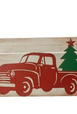 """PLAQUE TRUCK WALL 28"""""""