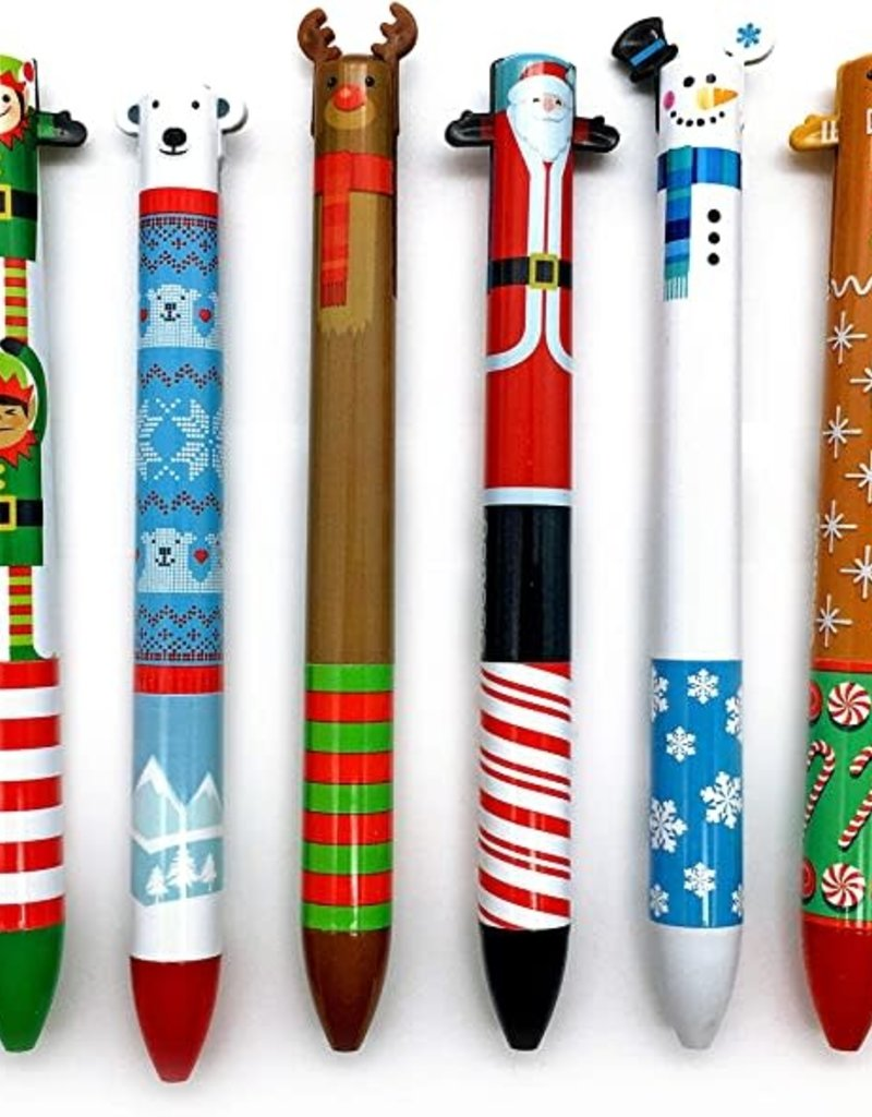 Holiday Twice as Nice Click Pens