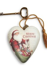 Art Heart - Merry Christmas Santa