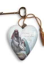 Art Heart - O Come Let Us Adore Him