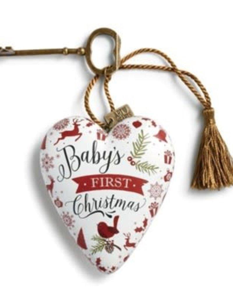 ART HEART BABYS FIRST CHRISTMAS