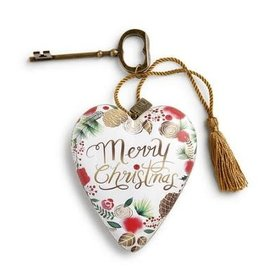 ART HEART CMAS MERRY CHRISTMAS WREATH