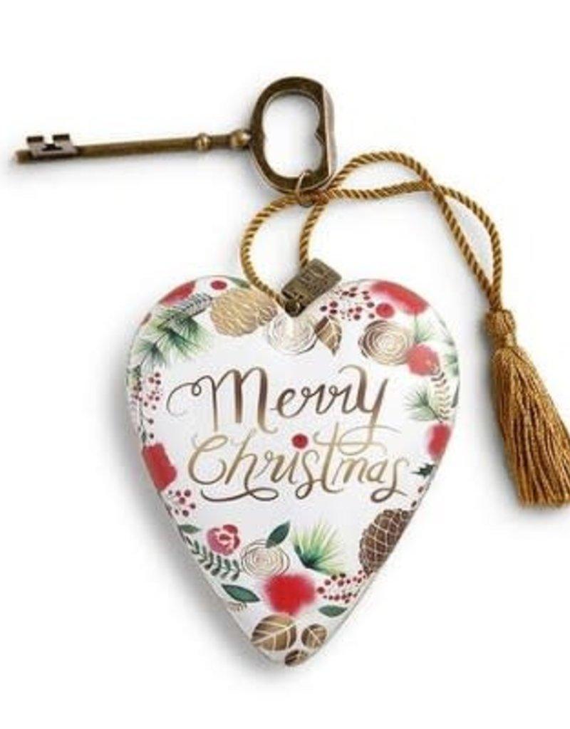 ART HEART CMAS MERRY CHRISTMAS WREATH