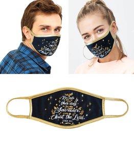 Face Mask- For Unto Us ( Luke 2:11)