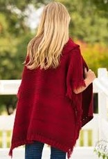 I'm Coming Home Sweater, Red & Black Heathered