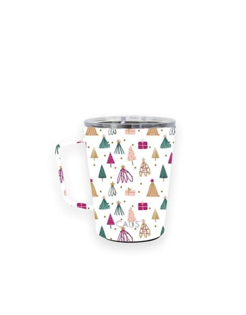SS Coffee Tumbler w/Handle Whimiscle Winter