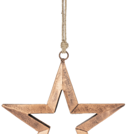 Cut Out Star Ornament