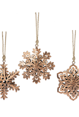 Snowflake Pillow Ornaments