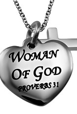 Sweetheart Necklace Woman of God Necklace
