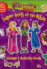 Beginner's Bible Super Girls of the Bible Sticker and Activity Book