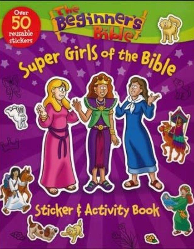 Beginner's Bible Super Girls of the Bible Sticker and Activity Book