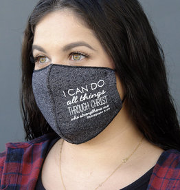 FACE MASK - FLEECE FABRIC 3D PHIL 4:13