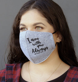 Face Mask- FLEECE FABRIC  - MATT 28:20