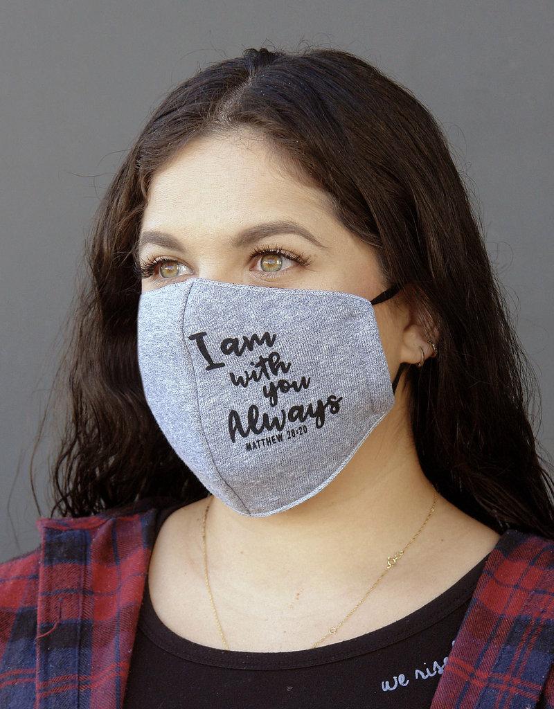 Face Mask- FLEECE FABRIC  - MATT 28:20