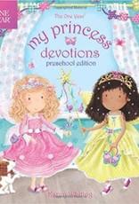 The One Year My Princess Devotions: Preschool Edition