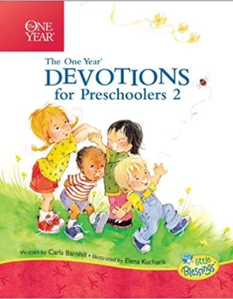 The One Year Devotions for Preschoolers 2: 365 Simple Devotions for the Very Young (Little Blessings)