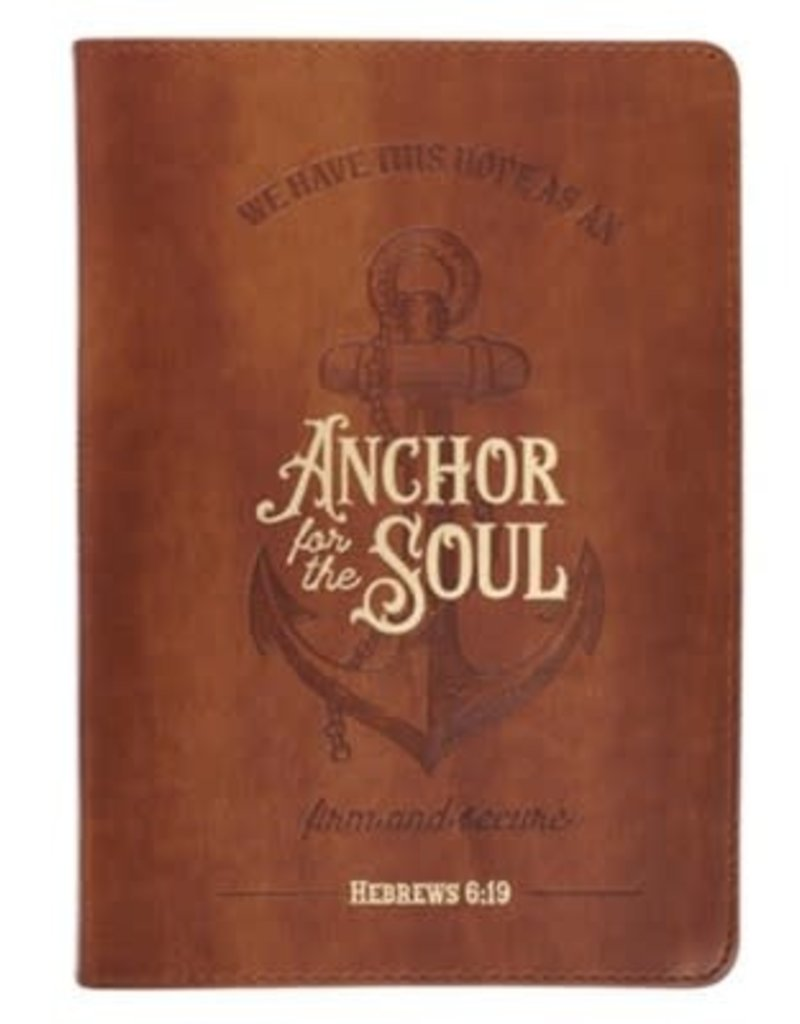 Anchor for the Soul Classic Journal, Brown