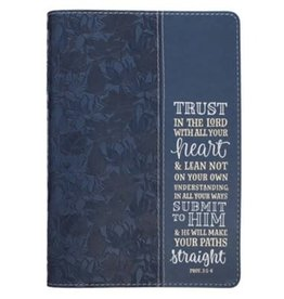 Trust in the Lord Classic Journal, Navy Blue