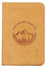 Faith Can Move Mountains Pocket-sized FulFaith Can Move Mountains Pocket-sized Full Grain Leather Journal