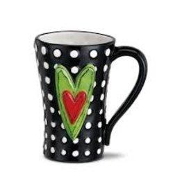 White Dots Mug