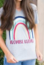 Promise Keeper Steel Vneck T- Shirt