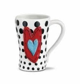 Black Dots Mug