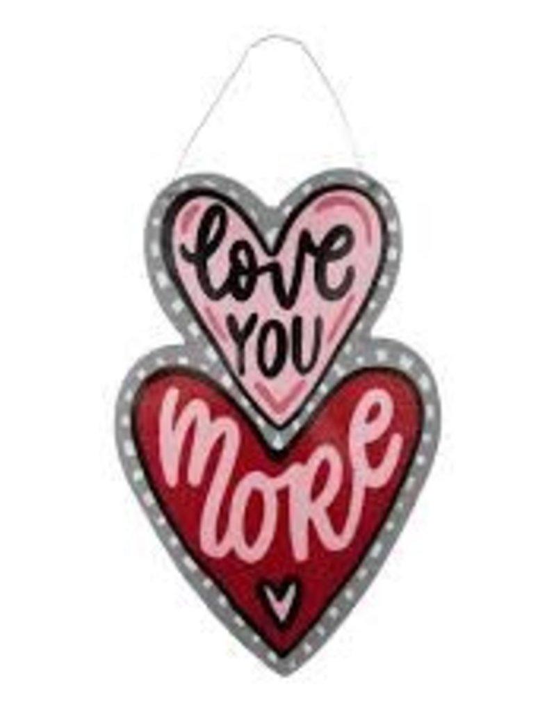Love you More Heart Burlee