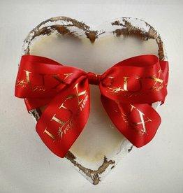 A Dozen Roses - Heart-Shaped Dough Bowl Candle