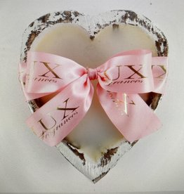 Lover's Lane - Heart-Shaped Dough Bowl Candle