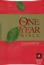 The One Year Bible Premium Slimline 2nd Edition (NLT)