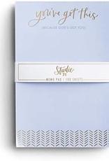 100 Sheets Memo Pad  95049