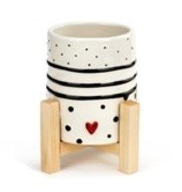 Dots & Stripes Mini Planter